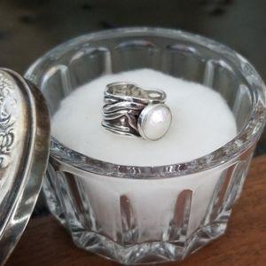 Silpada  - Mermaid Pearl Ring